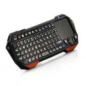 High-Tech Place MCBQTP01 - Mini Clavier Bluetooth Qwerty avec Touch Pad