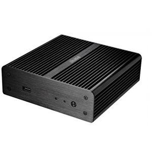 Akasa Newton AK-ITX07M-BK - Boîtier pour Intel NUC avec adaptateur secteur 65W