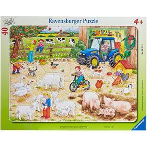 Ravensburger Puzzle à cadre A la ferme 40 pièces