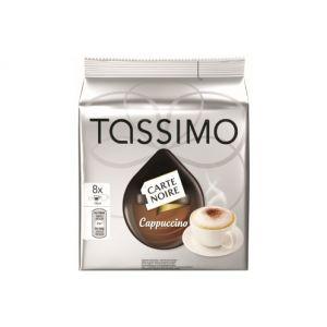 Tassimo 8 dosettes T-Discs Carte Noire Capuccino