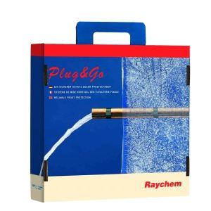 Raychem FGUARD-10M 60121004 - Ruban chauffant KIt Plug & Go FGUARD 10 mètre 100W + alimentation + thermostat