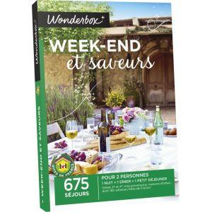 wonderbox week end et saveurs coffret cadeau comparer avec. Black Bedroom Furniture Sets. Home Design Ideas