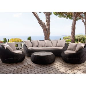 hesperide java v i p salon de jardin en r sine tress e comparer avec. Black Bedroom Furniture Sets. Home Design Ideas
