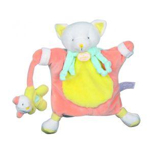 Doudou & cie Marionnette Chat 24 cm