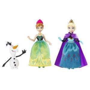 Mattel Coffret personnages fabuleux La Reine des neiges