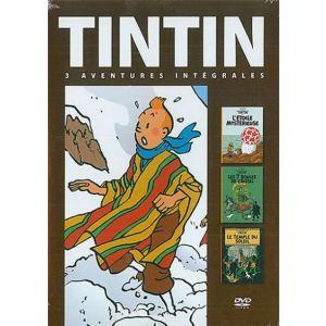 Coffret Tintin - Volume 4 : Les 7 boules de cristal + Le temple du soleil + L'étoile mystérieuse
