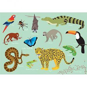 Jungle - Set de table pour enfant (31 x 43 cm)