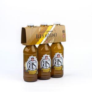 Brasseurs savoyards Bière BS Blonde Bio 3x33cl