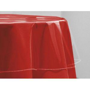 Soleil d'Ocre Protège-nappe ronde cristal (180 cm)