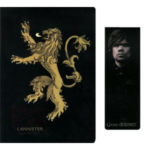 SD Toys Notebook avec marque-page Games Of Thrones Lannister