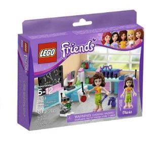Lego 3933 - Friends : L'atelier scientifique d'Olivia
