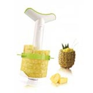 BDX Vacuvin 4872260 - Débiteur d' ananas Easy Slicer