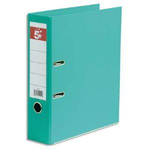 5* office 10 classeurs à levier plastifié intérieur et extérieur (dos 7,5 cm)