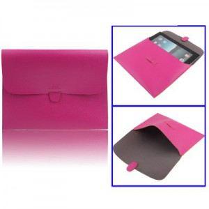 LambeMu E18N4-IPAD2-0436 - Pochette simili cuir de qualité avec intérieur microfibre pour iPad