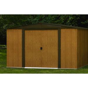 Chalet et Jardin BM 106 - Abri de jardin en métal aspect bois 5,60 m2