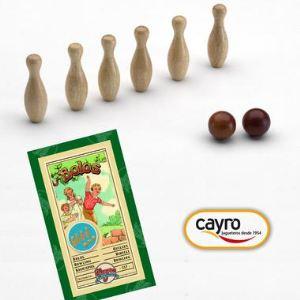 Cayro 517 - Jeu de quille bowling en bois