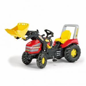 Rolly Toys Tracteur à pédales X-Trac avec chargeur
