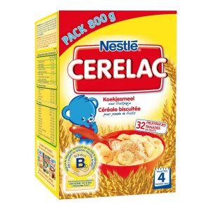 Nestlé Cerelac Céréale biscuitée 800 g - dès 4 mois