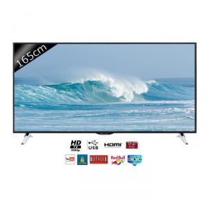 Continental Edison 65S0116B3 - Téléviseur LED 165 cm Smart TV
