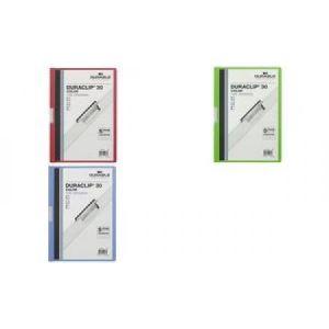 Durable Chemise à clip Duraclip format A4 (30 feuilles)