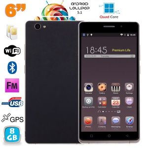"""Yonis Y-sa69g8 - Smartphone 6"""" Dual SIM"""