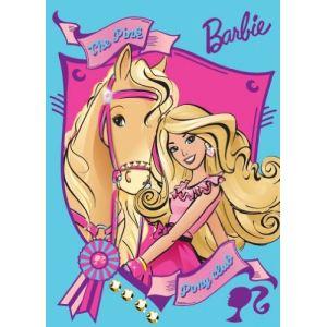 Mattel Tapis Barbie My Fab Pony Club
