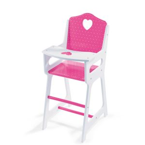 Janod Chaise haute coeur