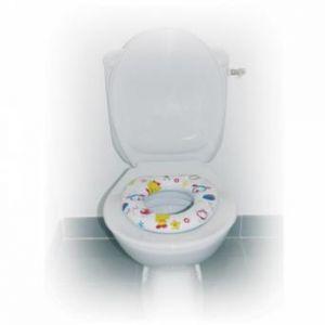 Réducteur de toilettes enfants imprimé