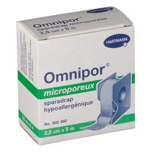 Hartmann Omnipor - Sparadrap hypoallergénique 2.5 cm x 5 m