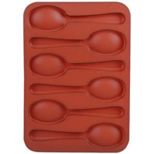 Guy Degrenne 2 moules à chocolat en forme de cuillère en silicone