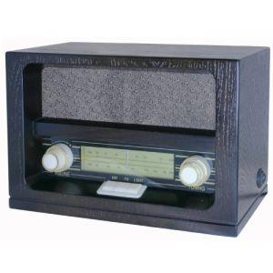 Roadstar HRA-1520 - Radio FM/MW en bois