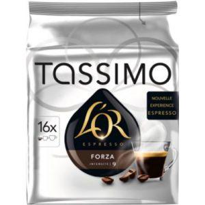 Tassimo 16 dosettes T-Discs L'OR espresso Forza