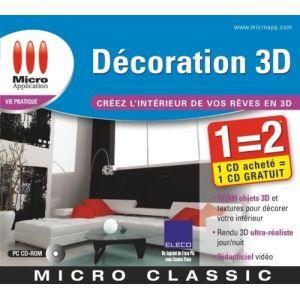 Logiciel d 39 architecture et de decoration micro application for Architecte 3d 2001