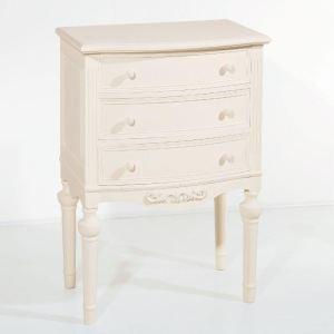 Commode Blanca 3 tiroirs en bois