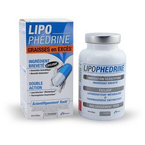 3 Chênes Lipophedrine - Liporéducteur puissant, 80 gélules