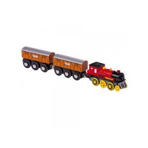 Legler 5802 - Locomotive électrique avec deux wagons