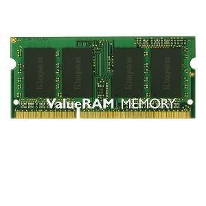 Kingston KVR16LS11/4BK - Barrette mémoire ValueRAM 4 Go DDR3L 1600 MHz PC3L-12800 CL11 SODIMM 204 broches