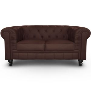 Menzzo Canapé Chesterfield 2 places