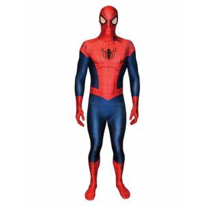 Déguisement morphsuits luxe Spiderman adulte