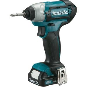 Makita TD110DWAE - Visseuse à chocs Makita 10.8V Li-Ion 2x2Ah 110Nm