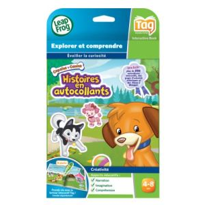 Leapfrog Livre Tag : Mes Amis Canins Autocollants