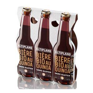 Altiplano Bière BIO au Quinoa - Tripack 3x33 cl