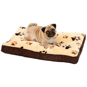 Karlie Coussin Track rectangulaire pour chien (beige)