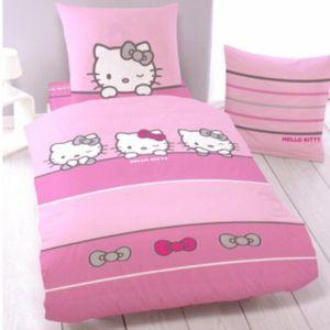 Cti Hello Kitty Sleeping - Housse de couette avec taie (140 x 200 cm)