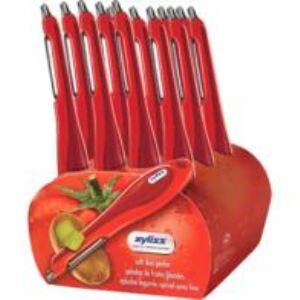 Zyliss ZYL71702 - Presentoir 12 éplucheurs à tomates
