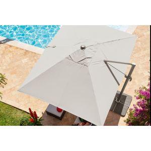 Parasol rectangulaire taupe comparer 48 offres - Parasol rectangulaire inclinable castorama ...