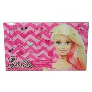 Mattel Calendrier de l'avent Barbie maquillage et cosmétique