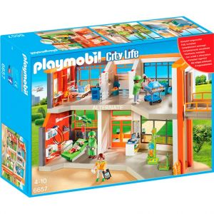 Playmobil 6657 City Life - Hôpital pédiatrique aménagé