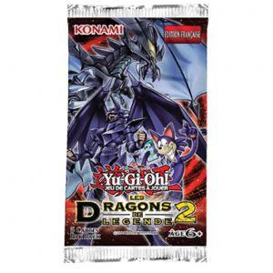 Konami Boosters Yu-Gi-Oh! Dragons de légende 2