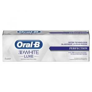 Image de Oral-B 3D White Luxe - Dentifrice Perfection (75 ml)